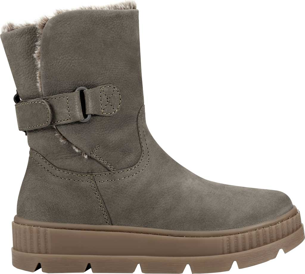 Women's Earth Oaklynn Eldora Ankle Bootie, Taupe Tumbled Nubuck, large, image 2