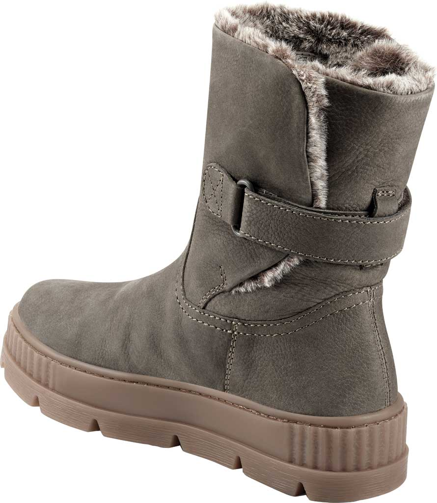 Women's Earth Oaklynn Eldora Ankle Bootie, Taupe Tumbled Nubuck, large, image 3