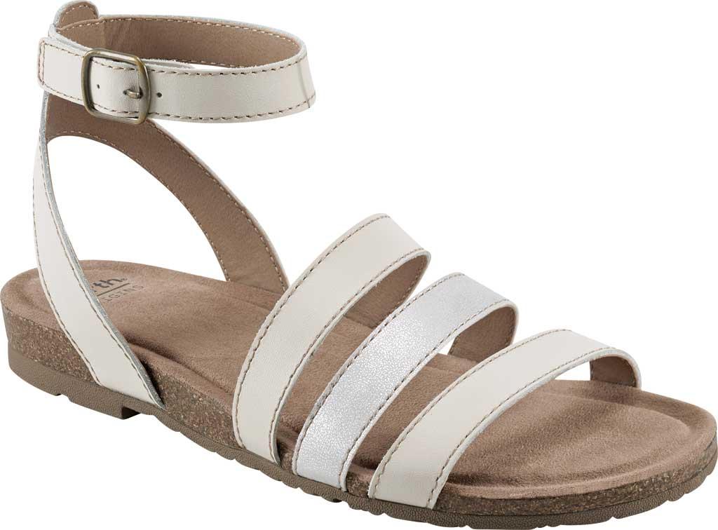 Women's Earth Origins Leesa Ankle Strap Sandal, Sand White Multi Eco Calf Leather, large, image 1