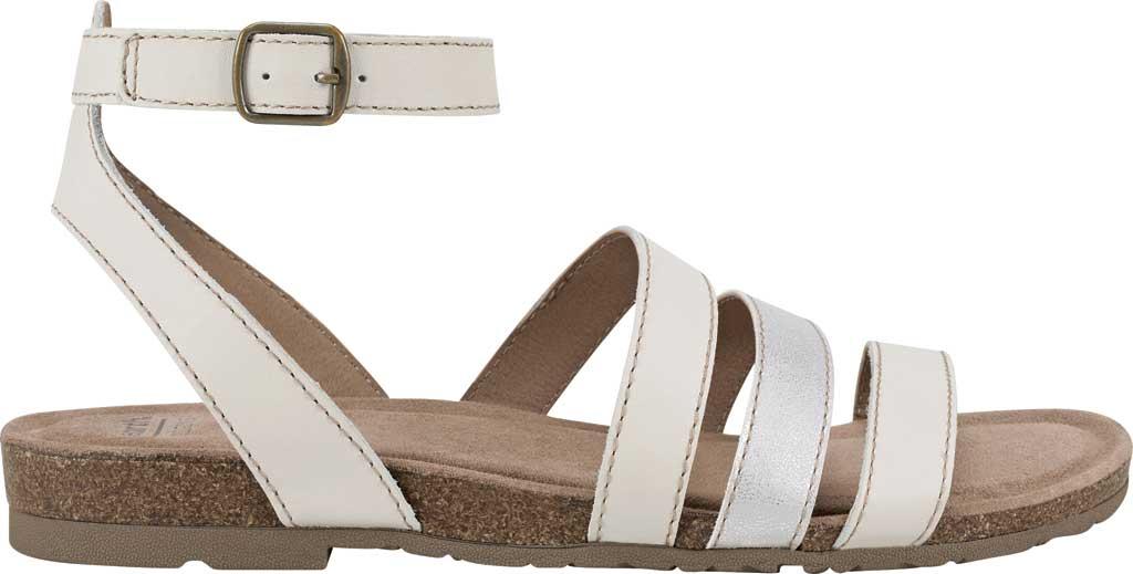 Women's Earth Origins Leesa Ankle Strap Sandal, Sand White Multi Eco Calf Leather, large, image 2