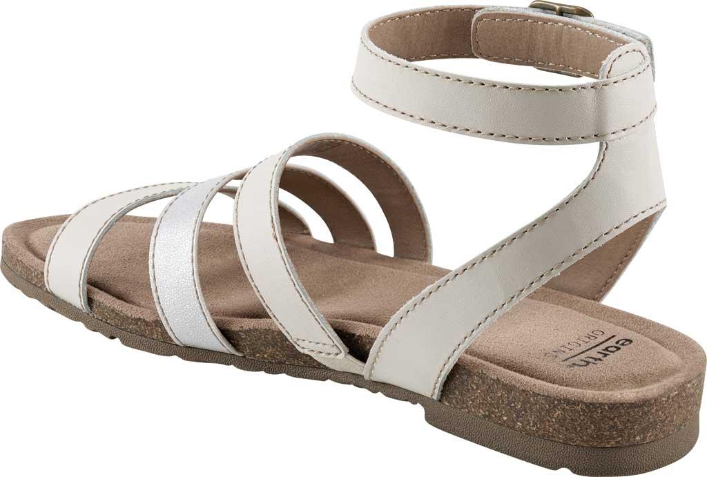 Women's Earth Origins Leesa Ankle Strap Sandal, Sand White Multi Eco Calf Leather, large, image 3