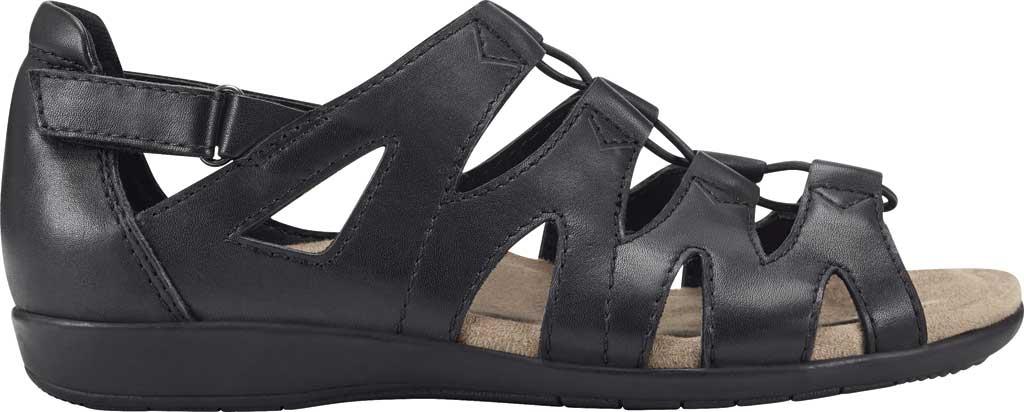 Women's Earth Origins Bea Cage Shoe, Black Eco Calf Leather, large, image 2