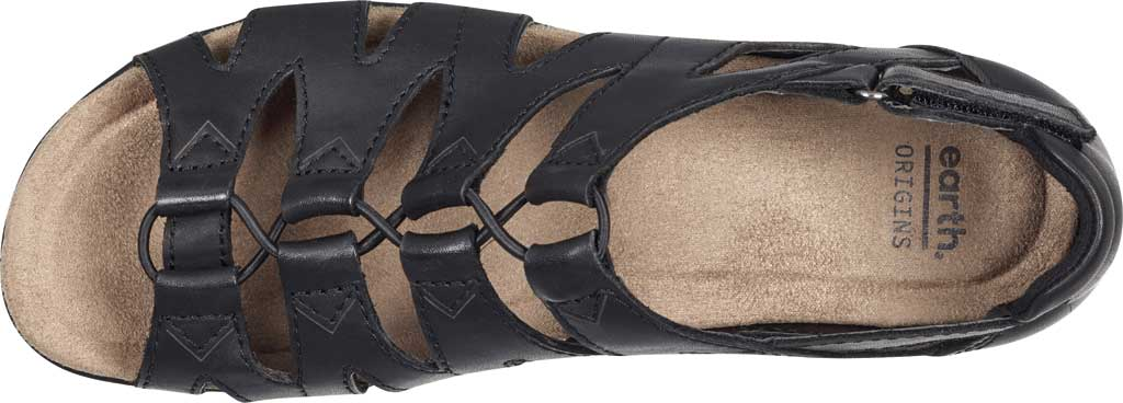 Women's Earth Origins Bea Cage Shoe, Black Eco Calf Leather, large, image 4