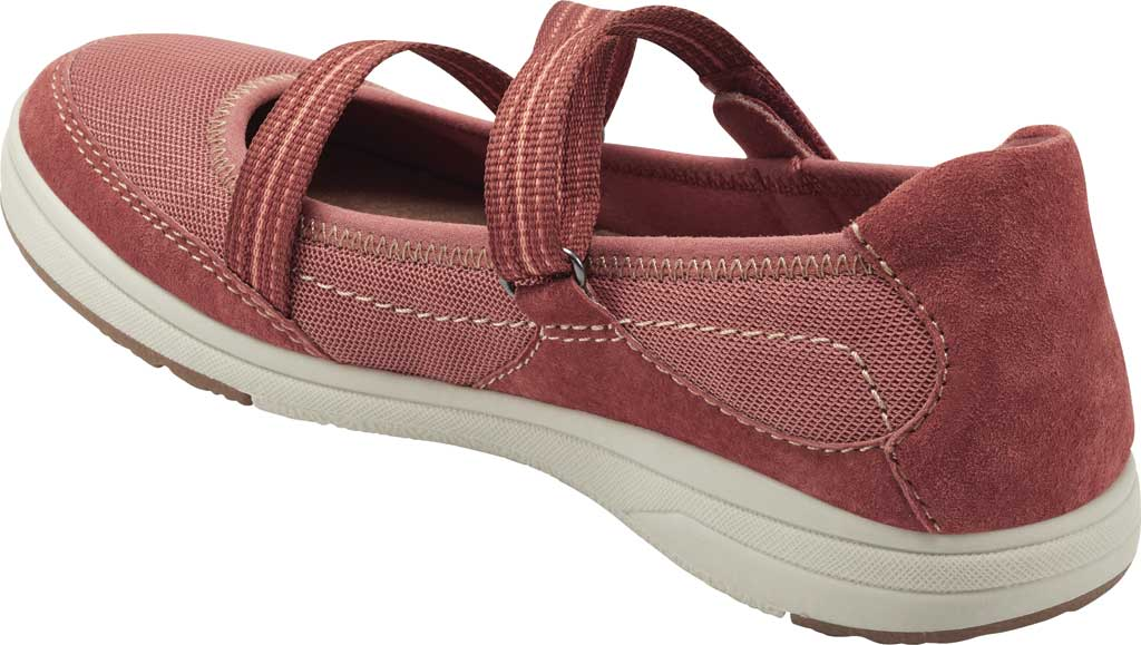 Women's Earth Origins Elle Mary Jane, Salmon Pig Suede, large, image 3