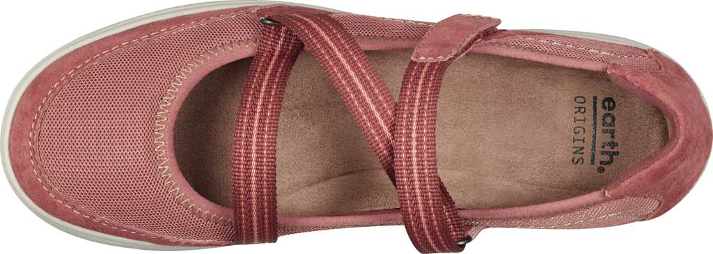 Women's Earth Origins Elle Mary Jane, Salmon Pig Suede, large, image 4