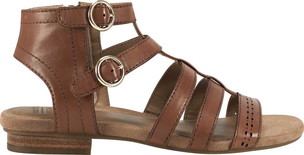 Women's Earth Origins Maren Gladiator Sandal, Saddle Eco Calf Leather, large, image 2