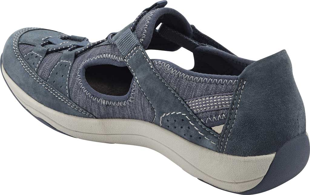 Women's Earth Origins Song Sneaker, Navy Blue Pig Suede, large, image 3