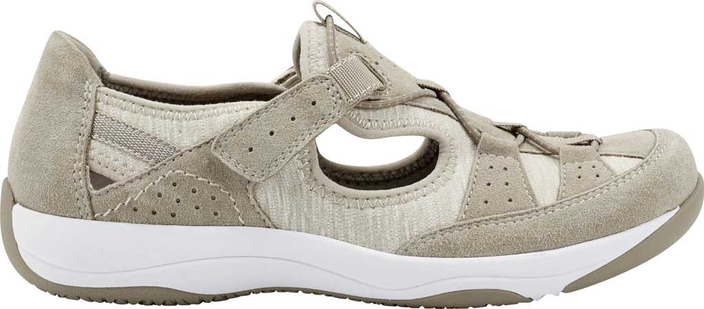 Women's Earth Origins Song Sneaker, New Khaki Pig Suede, large, image 2