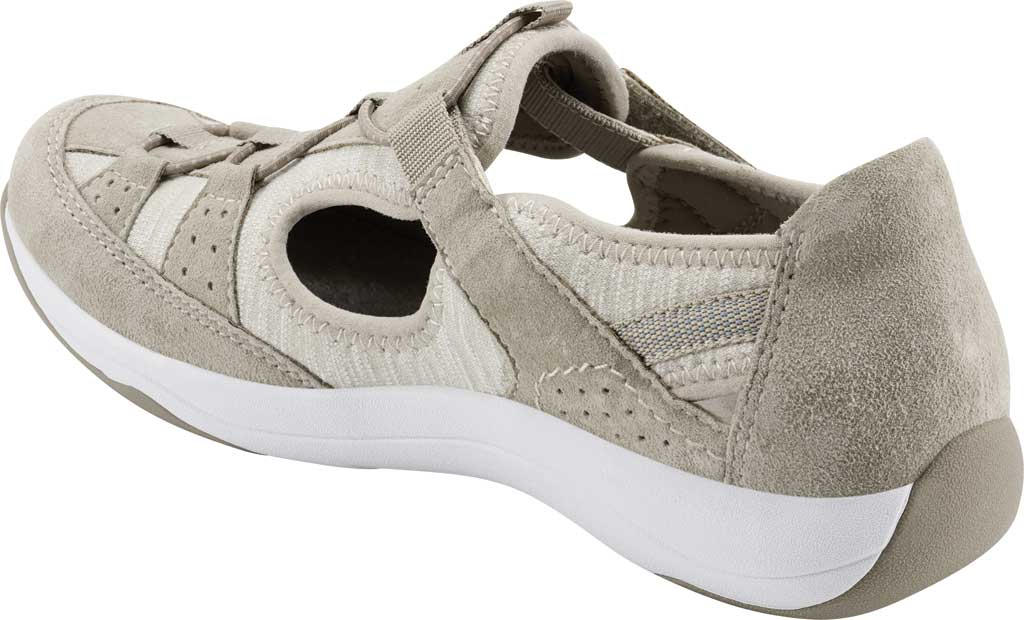 Women's Earth Origins Song Sneaker, New Khaki Pig Suede, large, image 3