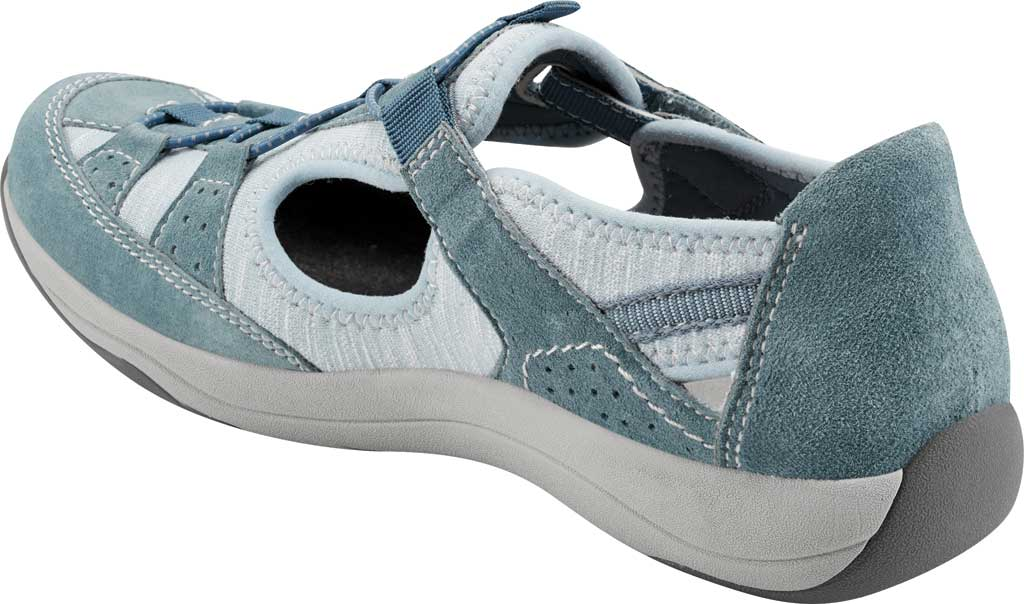 Women's Earth Origins Song Sneaker, Moroccan Blue Pig Suede, large, image 3