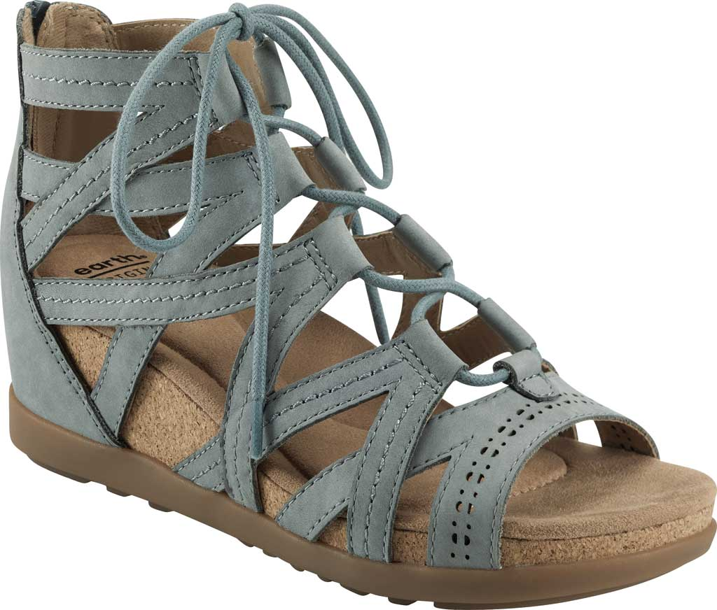 Women's Earth Origins Corie Wedge Gladiator Sandal, , large, image 1