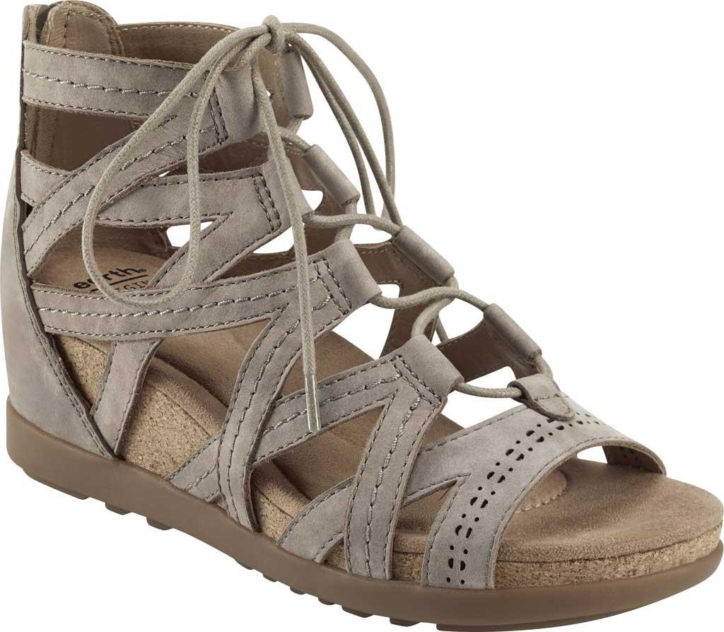 Women's Earth Origins Corie Wedge Gladiator Sandal, Coco Vintage Cookie II Nubuck, large, image 1
