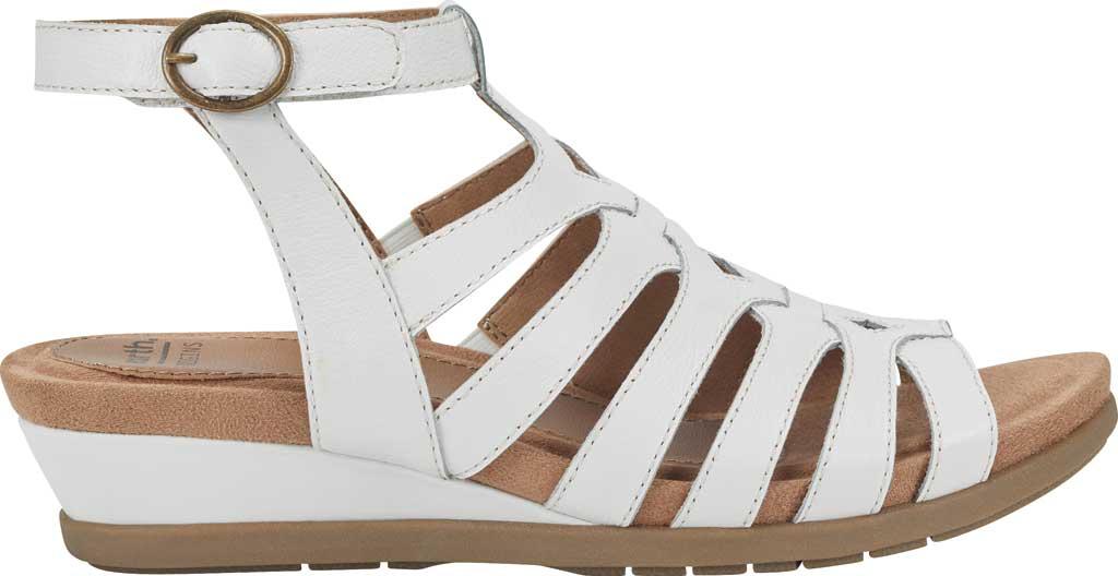 Women's Earth Origins Pippa Gladiator Sandal, White Pig Skin Leather, large, image 2