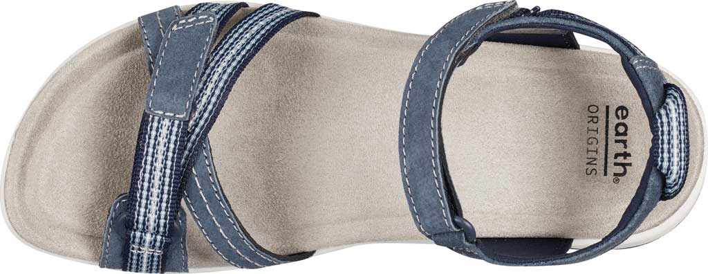 Women's Earth Origins Sarena Active Sandal, Navy Blue Pig Suede, large, image 4