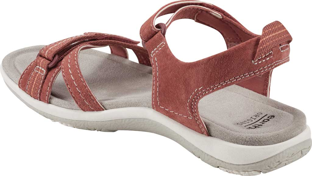 Women's Earth Origins Sarena Active Sandal, Salmon Pig Suede, large, image 3