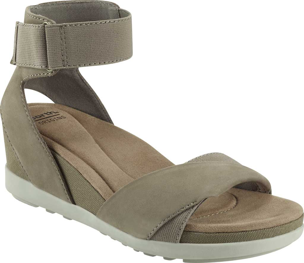 Women's Earth Origins Carolina Ankle Strap Wedge Sandal, , large, image 1