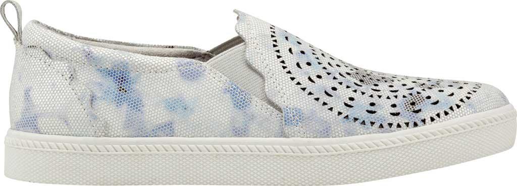 Women's Earth Origins Zelle Slip On Sneaker, White Multi Nivalis Eco Print Leather, large, image 2
