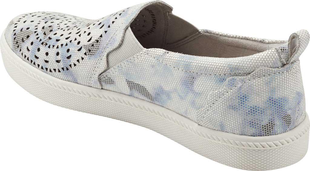 Women's Earth Origins Zelle Slip On Sneaker, White Multi Nivalis Eco Print Leather, large, image 3
