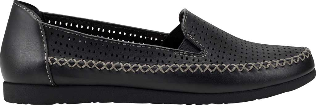 Women's Earth Origins Lizzy Perforated Smoking Flat, , large, image 2