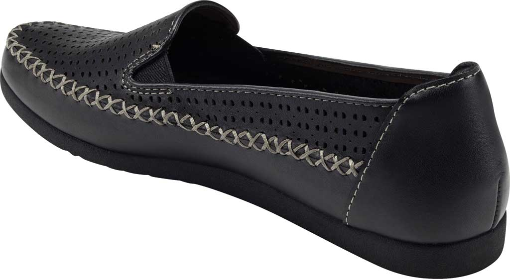 Women's Earth Origins Lizzy Perforated Smoking Flat, , large, image 3