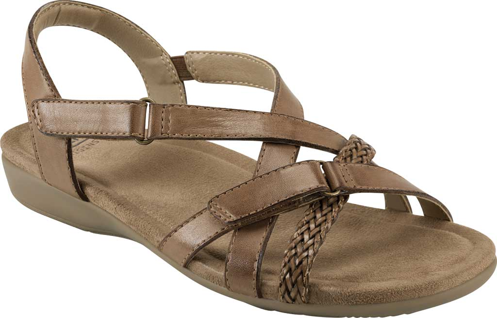 Women's Earth Origins Barb Wedge Strappy Sandal, , large, image 1