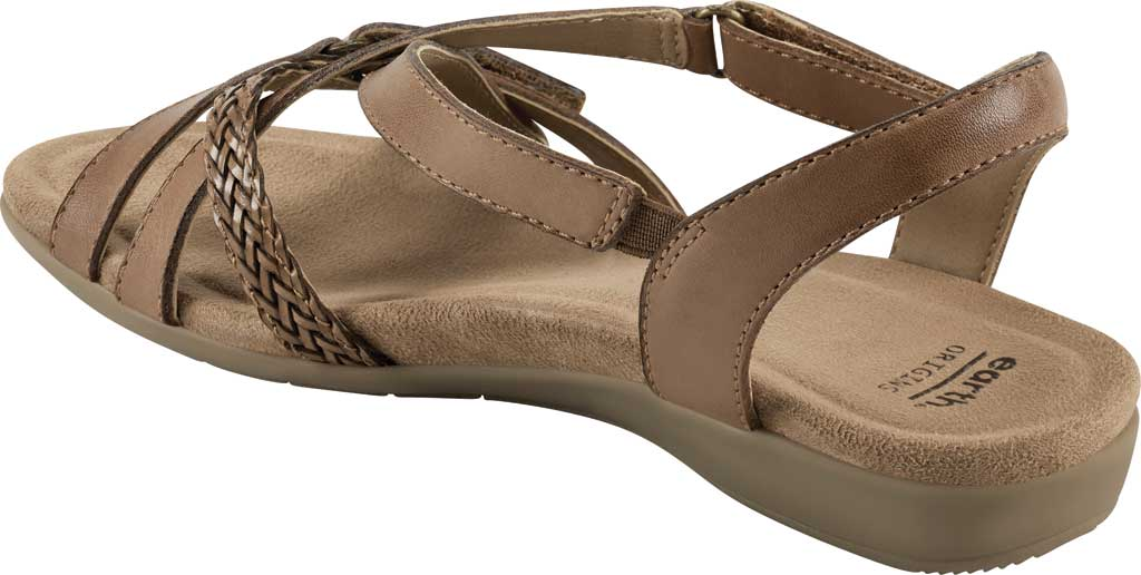 Women's Earth Origins Barb Wedge Strappy Sandal, , large, image 3