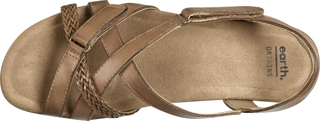 Women's Earth Origins Barb Wedge Strappy Sandal, , large, image 4