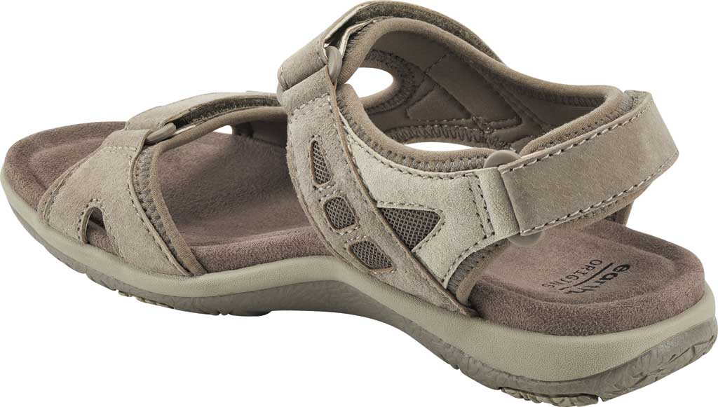 Women's Earth Origins Skylar Active Sandal, Taupe Multi Pig Suede, large, image 3
