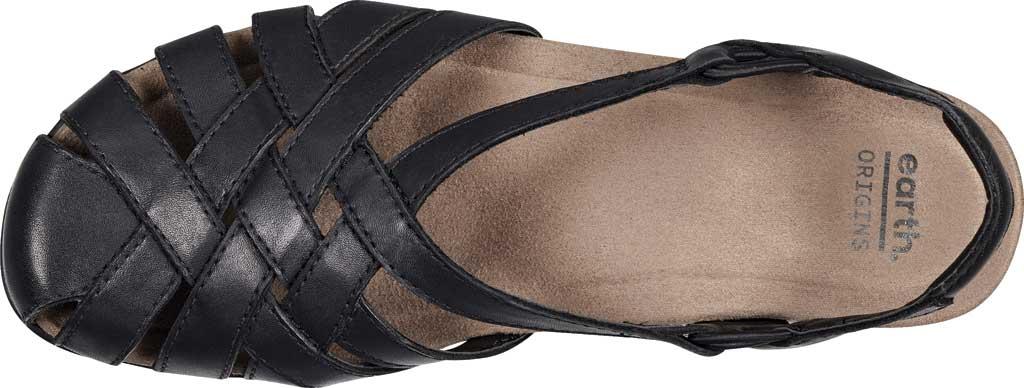 Women's Earth Origins Berri Wedge Closed Toe Sandal, , large, image 4
