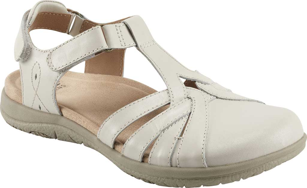 Women's Earth Origins Sierra Slingback Closed Toe Sandal, Sand White Eco Calf Leather, large, image 1