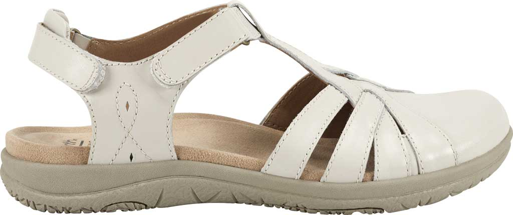 Women's Earth Origins Sierra Slingback Closed Toe Sandal, Sand White Eco Calf Leather, large, image 2