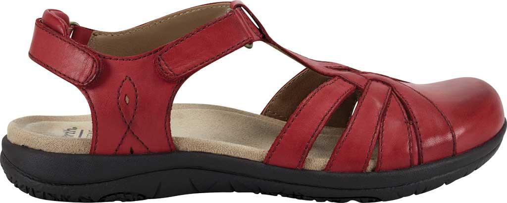 Women's Earth Origins Sierra Slingback Closed Toe Sandal, Bright Red Eco Calf Leather, large, image 2