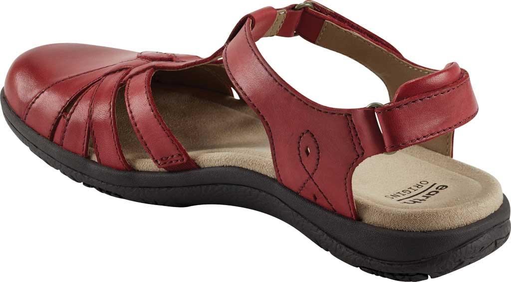 Women's Earth Origins Sierra Slingback Closed Toe Sandal, Bright Red Eco Calf Leather, large, image 3