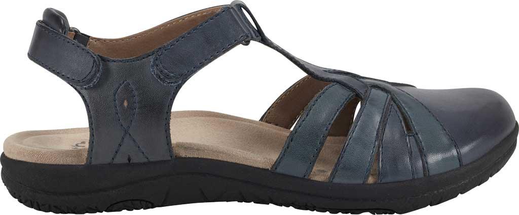Women's Earth Origins Sierra Slingback Closed Toe Sandal, Admiral Blue Multi Eco Calf Leather, large, image 2