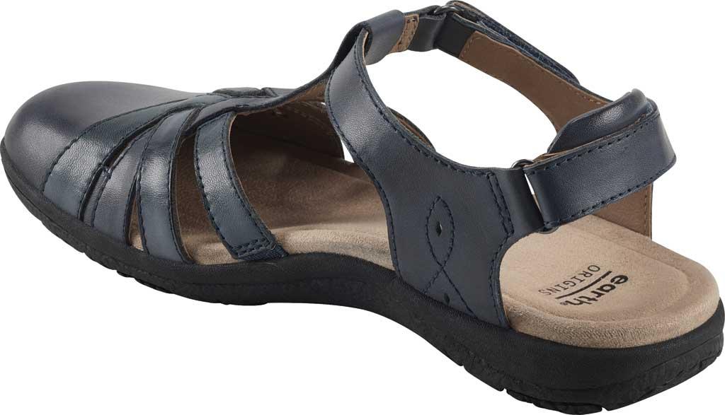 Women's Earth Origins Sierra Slingback Closed Toe Sandal, Admiral Blue Multi Eco Calf Leather, large, image 3
