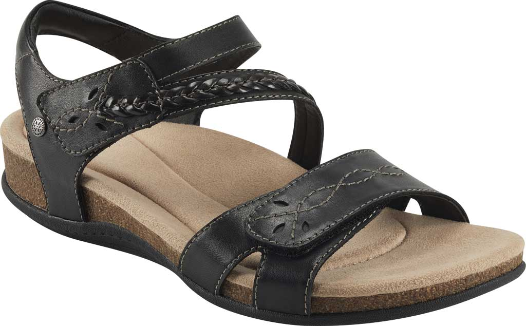 Women's Earth Origins Bria Wedge Strappy Sandal, , large, image 1