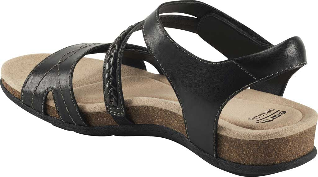 Women's Earth Origins Bria Wedge Strappy Sandal, , large, image 3