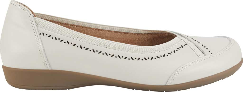 Women's Earth Origins Betz Ballet Flat, Sand White Eco Calf Leather, large, image 2