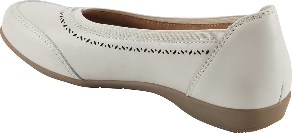Women's Earth Origins Betz Ballet Flat, Sand White Eco Calf Leather, large, image 3