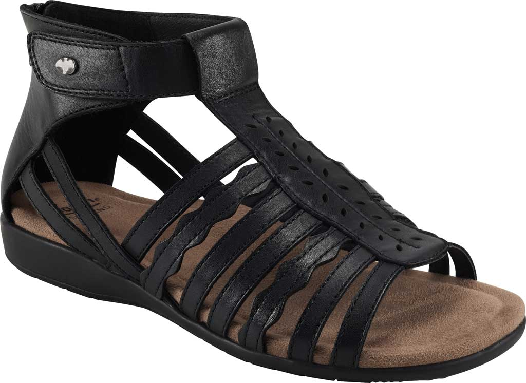 Women's Earth Origins Bevvy Wedge Strappy Sandal, , large, image 1