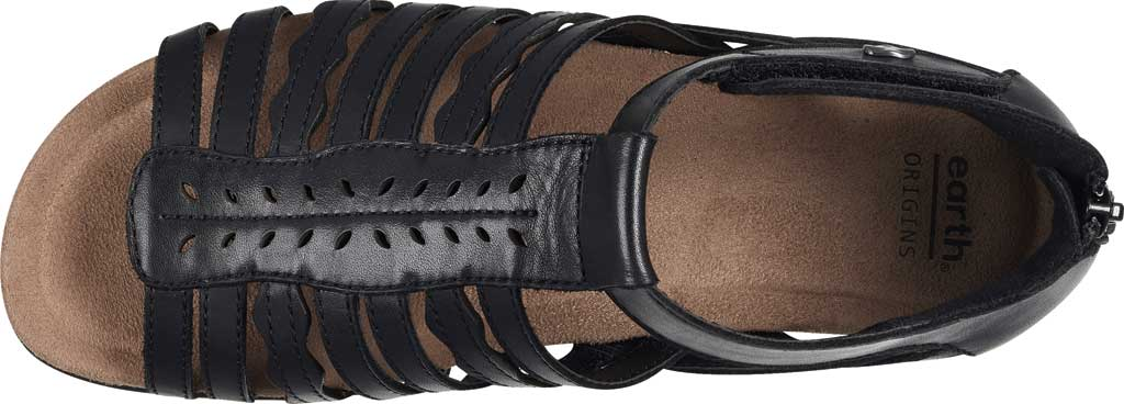 Women's Earth Origins Bevvy Wedge Strappy Sandal, , large, image 4