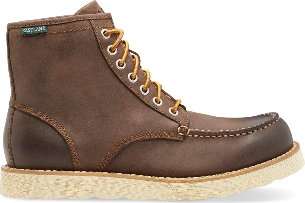 Men's Eastland Lumber Up Boot, Brown Smooth Leather, large, image 2