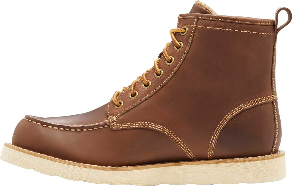 Men's Eastland Lumber Up Boot, Dark Tan Smooth Leather, large, image 3