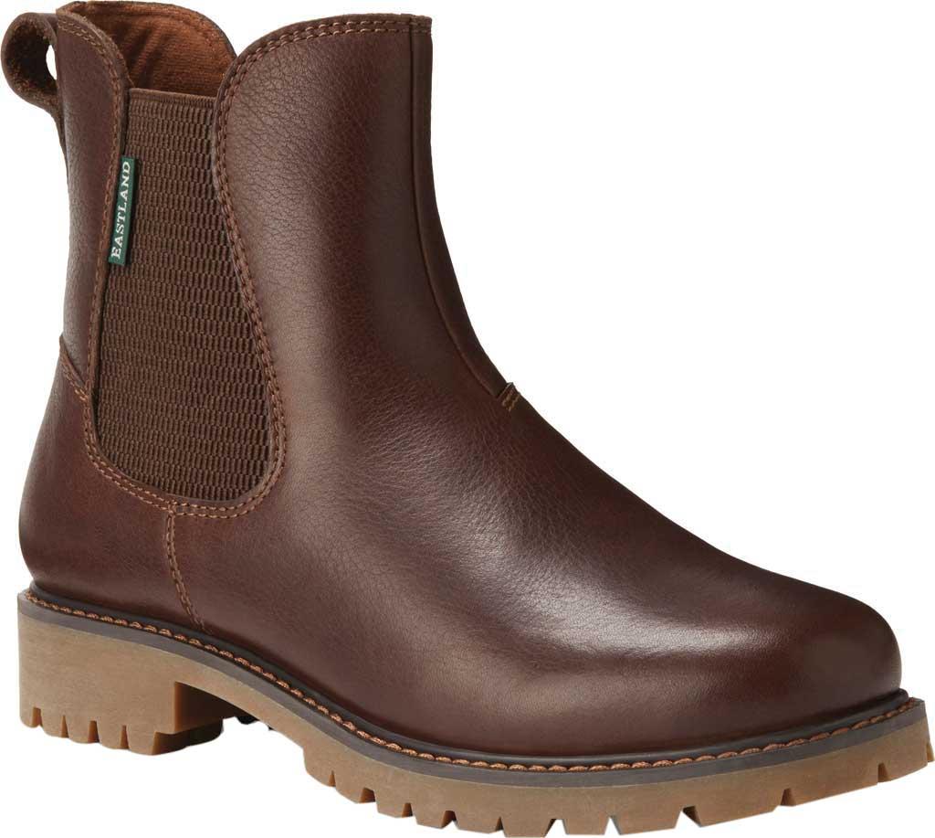 Women's Eastland Ida Chelsea Boot, Walnut Leather, large, image 1