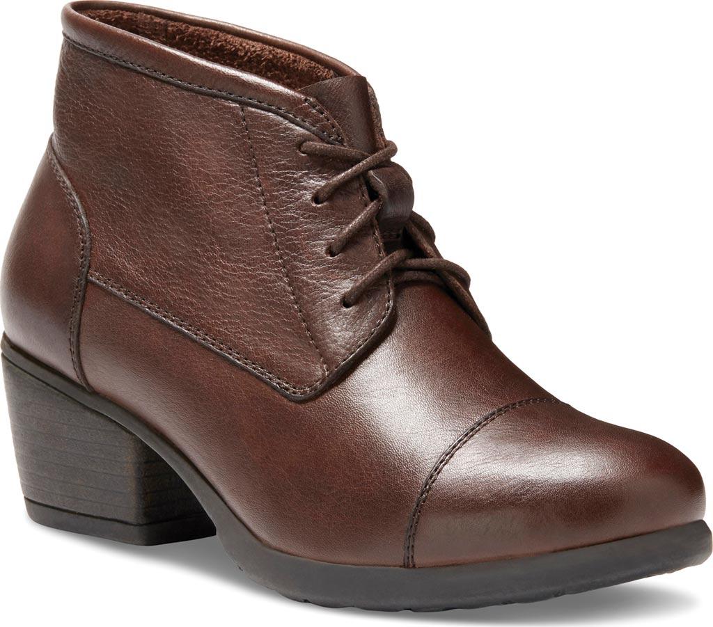 Women's Eastland Alexa Bootie, Brown Leather, large, image 1