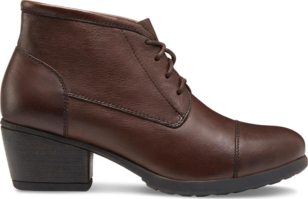 Women's Eastland Alexa Bootie, Brown Leather, large, image 2