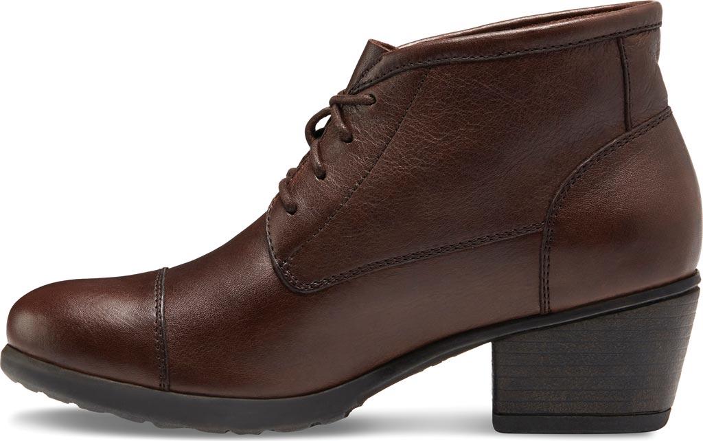 Women's Eastland Alexa Bootie, Brown Leather, large, image 3