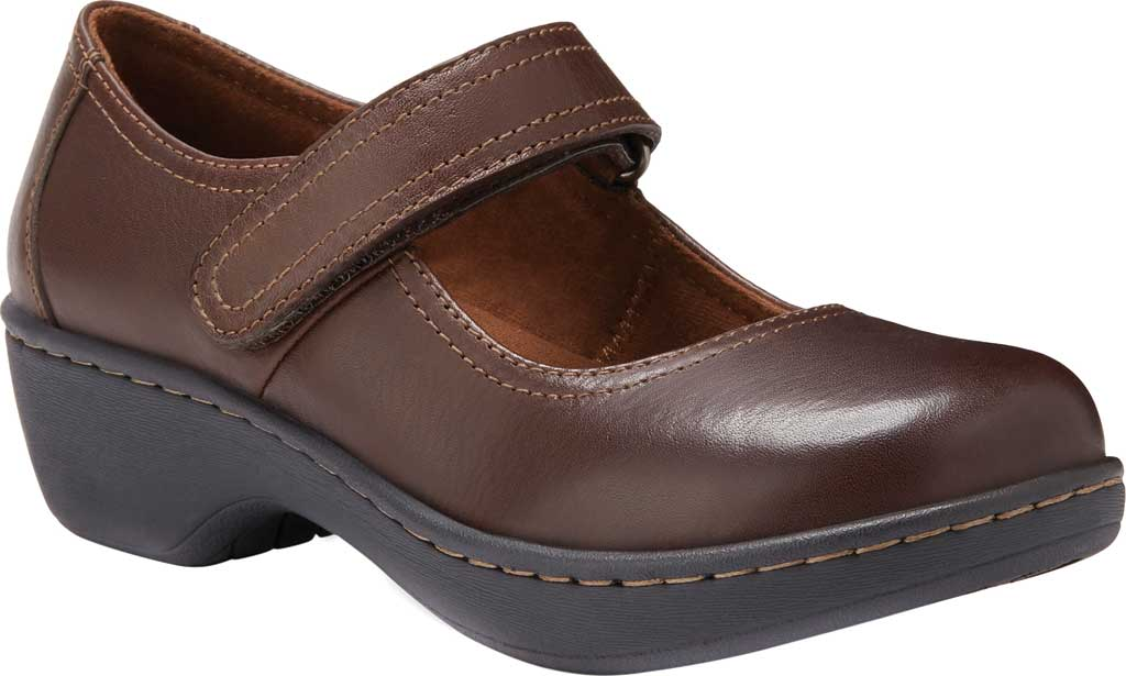 Women's Eastland Gloria Mary Jane, Brown Leather, large, image 1