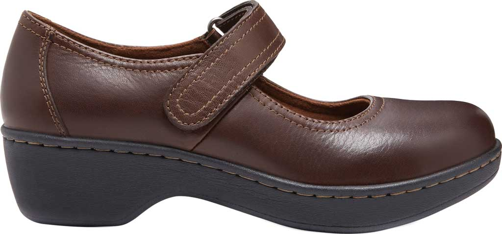 Women's Eastland Gloria Mary Jane, Brown Leather, large, image 2