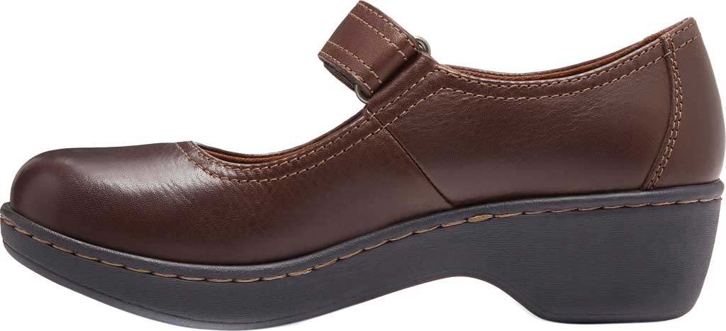 Women's Eastland Gloria Mary Jane, Brown Leather, large, image 3